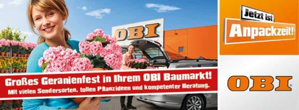 [OBI] Gratis Blumenkasten bepflanzen lassen