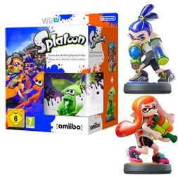 Splatoon (Wii U) + amiibo Limited Edition + Boy and Girl Inkling amiibo für 86,75€ @game.co.uk