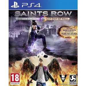 PS4: Saints Row IV Re-elected/ Saints Row: Gat Out of Hell für 24,23€ @TheGameCollection