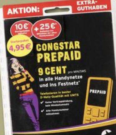 [lokal] Kodi Viersen - Congstar Prepaid Karte mit 10€ Startguthaben