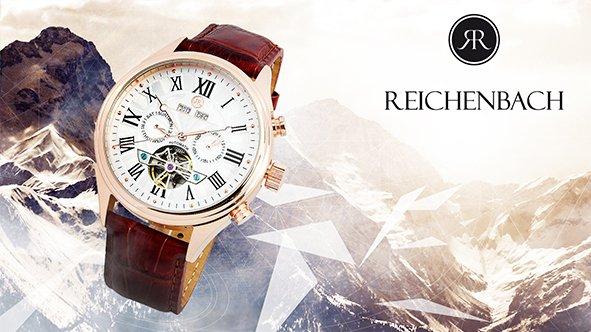 Herrenarmbanduhren von REICHENBACH für nur 179€ bzw. 199€ anstatt 749€ bzw 799€ (@vente-privee.de)