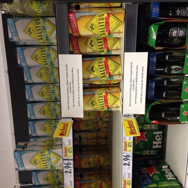 (Lokal Kaufland Demmin?) Salitos 4x0,33 + Salitos Ice 4x0,33 für 3,60€