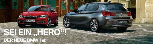 Privatkundenleasing :BMW 1er (neues Modell) 10000 km p.a. ,36 Monate Laufzeit, gute Ausstattung