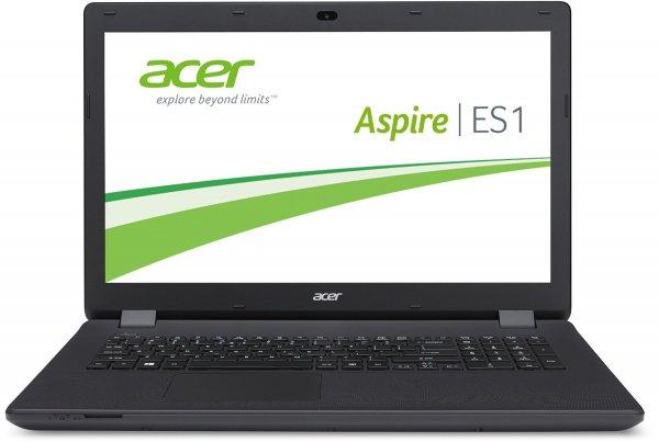 Acer Aspire ES1-711-P7HS 43,9 cm (17,3 Zoll HD+) Notebook (Intel Pentium N3540, 2,66GHz, 4GB RAM, 500GB, Win 8.1) schwarz von Acer als WHD mehrmals für 316€ statt 424€
