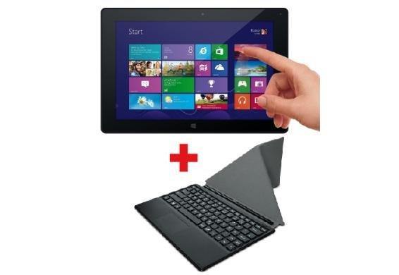[3% Qipu] Odys Wintab 10 25,7 cm (10,1 Zoll) Tablet-PC (2GB RAM, 32GB HDD, Intel Gen7, HD IPS Display (1280 x 800) inkl. Tastatur&Smart Cover  für 194,95€ frei Haus @DC