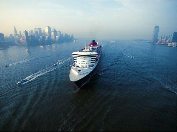 Queen Mary 2 Transatlantik Kreuzfahrt New York - Hamburg 21. Juni bis 30. Juni 2015 inkl. Hinflug und Vorübernachtung + $ 75 Bordguthaben