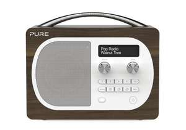 Pure Evoke D4 DAB/FM Radio Walnuss für 97,03 € @Amazon.co.uk