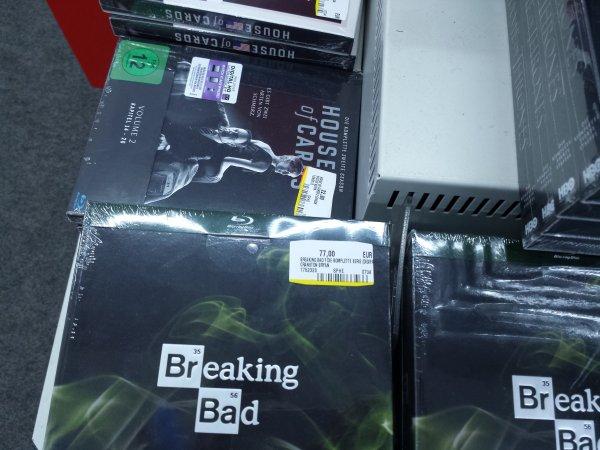 (MediaMarkt Erfurt) Breaking Bad - Komplette Serie - Bluray/DVD