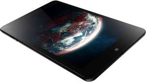 (amazon.de) Lenovo ThinkPad 8  (8,3 Zoll) Tablet-PC (Intel Core Z3770, 2,4GHz, 2GB RAM, 64GB SSD, Intel HD Graphics, Win 8.1) schwarz