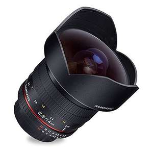 Samyang 14mm f/2.8 IF ED UMC Aspherical, manueller Fokus (Samsung NX) für 160,68 € @Amazon.it