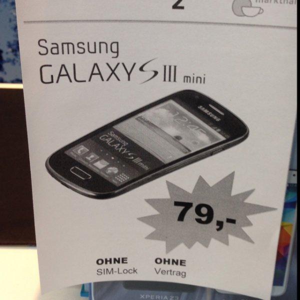 Samsung S3 Mini 79€ Blau (Idealo 98,98€) BERLIN Kreuzberg