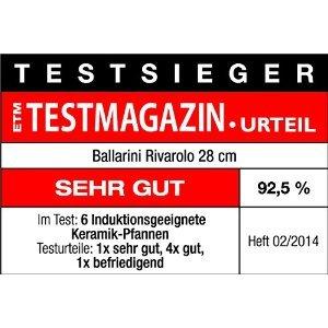 Ballarini Rivarolo Keramicpfanne 28cm -Testsieger-
