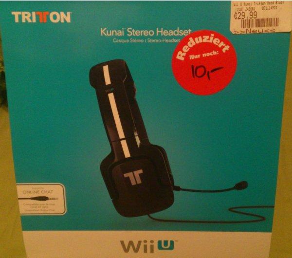 [Regensburg lokal?] GameStop Headset Tritton Kunai für Wii U (PC, Smartphone, PS4) 10,00 Euro auf GameStop.de für 17,99