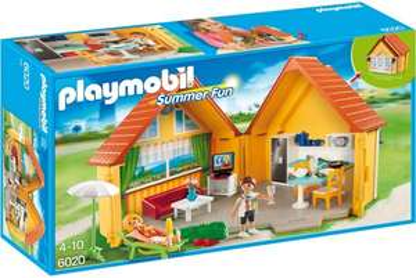 PLAYMOBIL 6020 - Aufklapp-Ferienhaus @Amazon-Prime