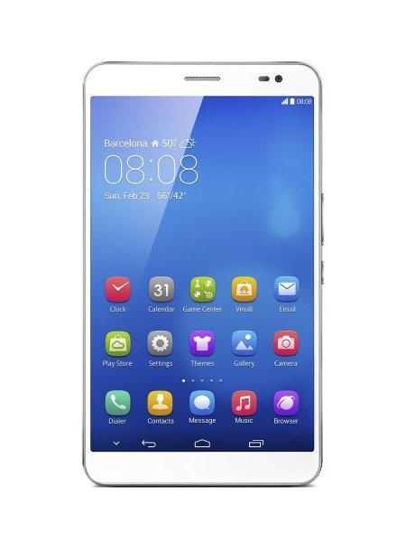 """Huawei MediaPad X1 7.0 (7"""",  1920x1200, 1,6 GHz Quadcore, 2GB RAM, 16GB HDD, LTE, Android) weiß für 243,98 € @Amazon.fr"""