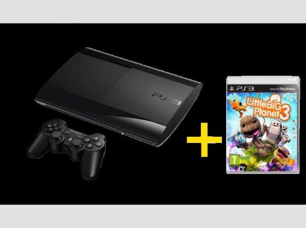PS3 Ultra Slim 12 GB + Little Big Planet für € 155 @saturn.at