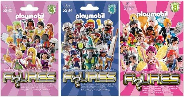 Playmobil™ - Figures Boys/Girls (5284,5285,5597) ab €1.- [@Real.de]