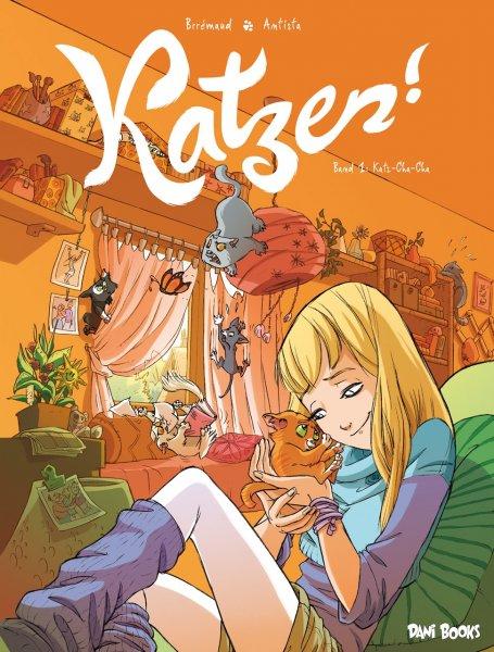 """Comicalbum """"Katzen! - Band 1: Katz-Cha-Cha"""" heute gratis für Kindle"""