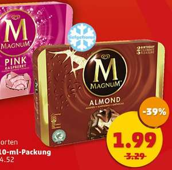 Magnum EIS bundesweit für nur 1,99€ im Angebot 17.04.- 18.04. [Penny]