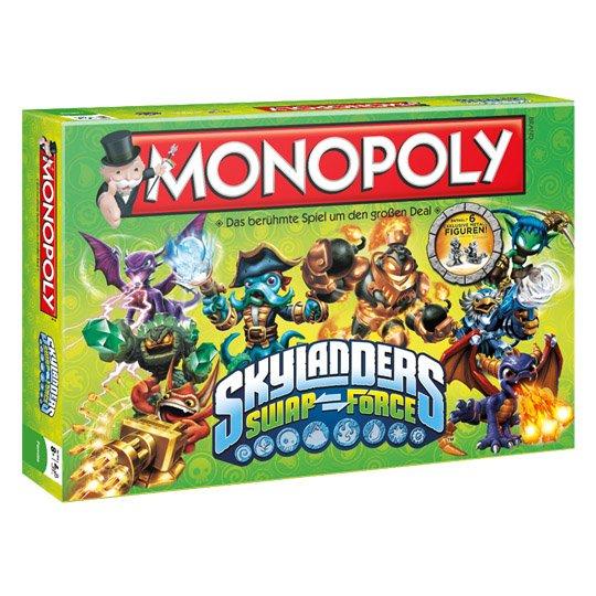 Monopoly Skylanders Swap Force ab 19€ @real.de Sonntag-Special