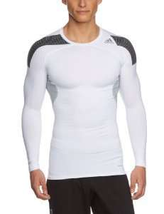 (Amazon.de Prime) Adidas Herren Langarmshirt TF Cool Long Sleeve Tee nur weiß gr. xxl
