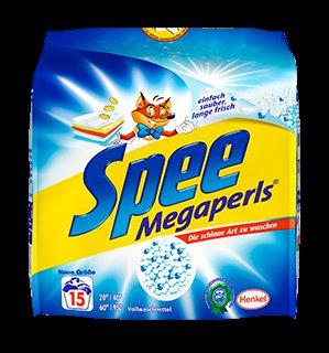 [Lokal-Kaufland Kleve]  Spee Megaperls 1,012 kg oder Gel 1,095 l, versch. Sorten für 1,99 Euro (16.04. bis 18.04.2015)