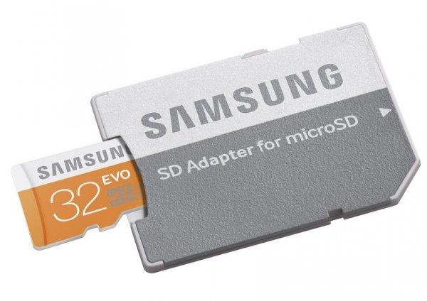 Samsung Evo 32GB MicroSD CL10 @MM online