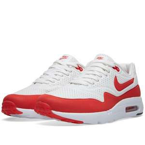 Nike Air Max 1 Ultra Moire weiss/rot @endclothing