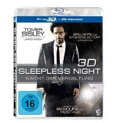 Sleepless Night - Nacht der Vergeltung [3D Blu-ray + 2D Version] für 3,99€ @MediaMarkt