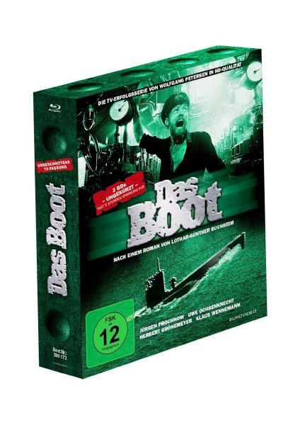 Das Boot - TV-Fassung/Ungekürzte Fassung [Blu-ray] für 11,97 € > [amazon] > Prime