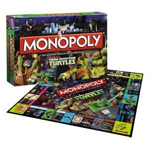 "[Real] Monopoly ""Teenage Mutant Ninja Turtles"" für 17,97€ *** Monopoly ""Angry Birds"" für 15€ (Abholung)"