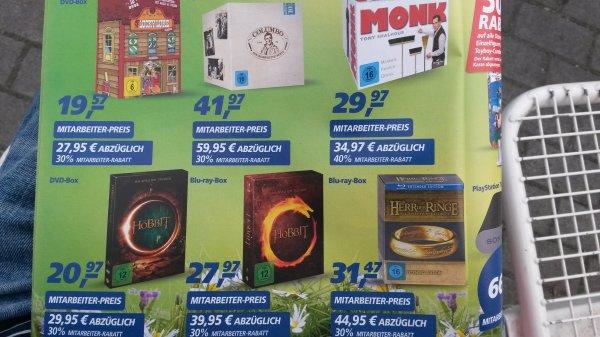 [OFFLINE] real,- Persokauf (Nur Plastikkarte!!) z.B. Herr der Ringe (Extended Version) für 31,47€