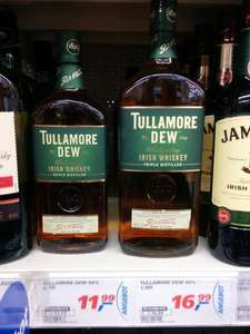 (Real) Tullamore DEW Whiskey 0,7L (11,99€) & 1,0L (16,99€)