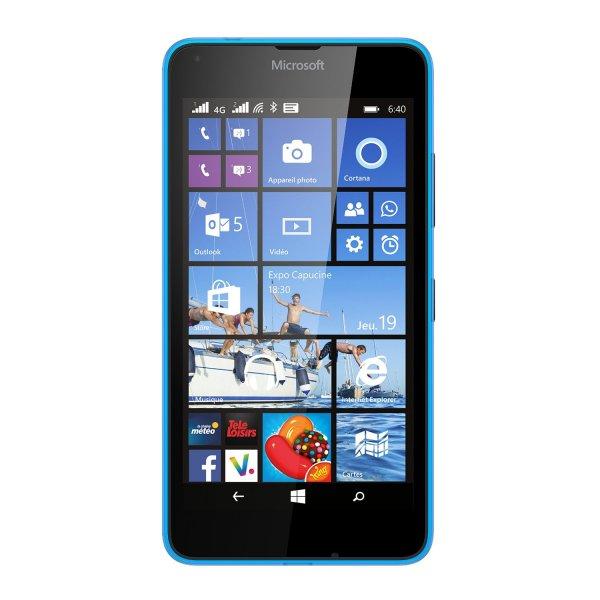 [Amazon.fr] Lumia 640 LTE + DS (blau) für 164,19€