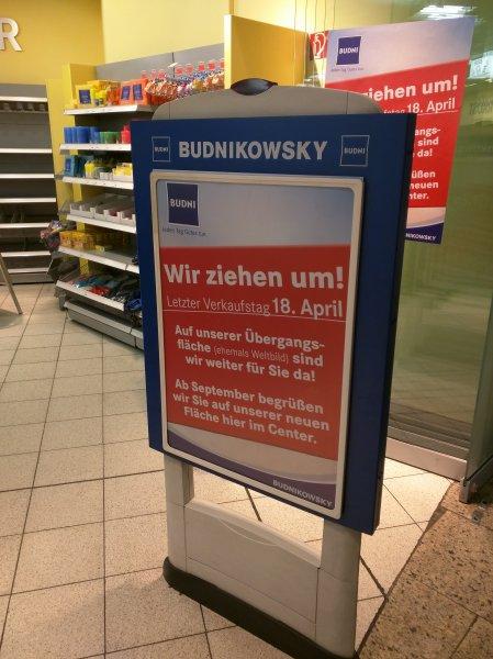 [Hamburg-Harburg] bei Budni 20% auf alles