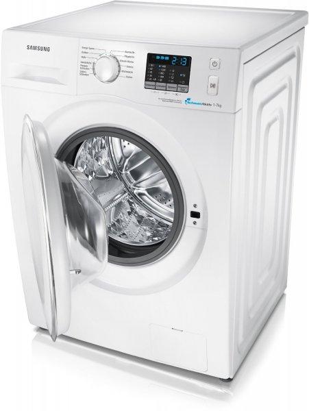 Samsung Waschmaschine WF70F5E2Q4W/EG, A+++, @ZackZack