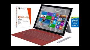 [Otto] Surface Pro 3 i5 128GB inkl. Type Cover (Rot) und Office 365: 875,94€ inkl. Versand
