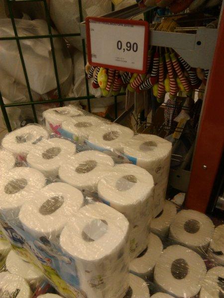 Toiletten Papier bei Rossmann 02730 Neugersdorf 0,90€