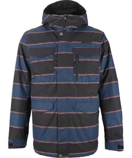 (Amazon.de)Burton Herren Snowboardjacke Covert Farbe Mascot Nyack Stripe nur gr.XL