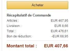 [Amazon.fr]PlayStation 4 + PlayStation TV (mit Gutschein für 3 Spiele) + Bloodborne + 90 Tage PS+ = 407,66 €