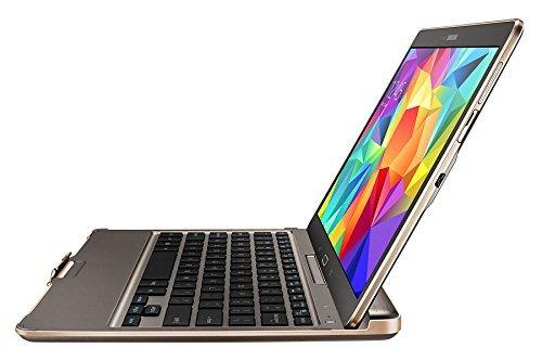 Samsung Galaxy Tab S 8.4 Bluetooth-Tastatur und Schutzhülle (original Samsung), in weiß oder bronze für 37,98€ inkl. Versand - nächster Preis lt. geizhals.de ab 59,99€