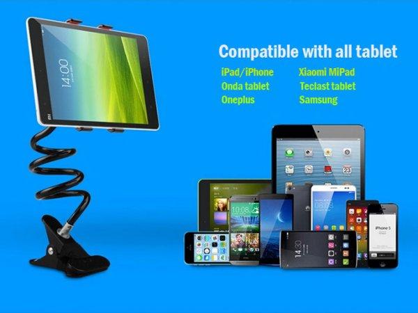 """""""X"""" Type Lazy Holder – praktische Universal-Halterung für Tablet PCs und Smartphones"""