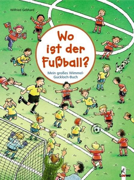 """Wimmel-Guckloch-Buch """"Wo ist der Fußball?"""" für 2,99€ versandkostenfrei bei Thalia.de"""