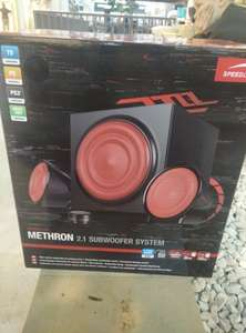 Speedlink Methron 2.1 subwoofer System (39,99€) [Saturn, Lokal?]
