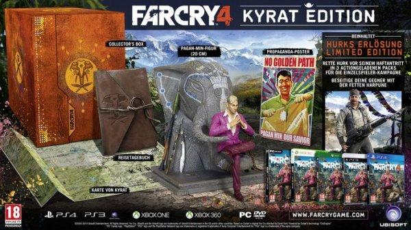 [Libro Österreich] Libro: Far Cry 4 Kyrat Edition (PlayStation 4 / Xbox One) für 39,99€ Versandkostenfrei...Nur für Österreich