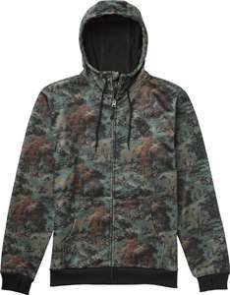(Amazon.de-Prime) Burton Herren Kapuzenpullover Bonded Hoodie Farbe:Loam Forest nur gr.S