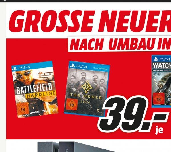 (lokal MM Koblenz & Neuwied) Battlefield Hardline PS4 für 39€ - Fritzbox 7490 für 149€