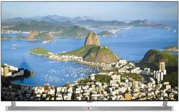 LG 49LB870V 123 cm (49 Zoll) Cinema 3D LED-Backlight-Fernseher (Full HD, 1000Hz MCI, DVB-T/C/S, CI+, Wireless-LAN, Smart TV) silber [Energieklasse A+] für 699,99 € @ Amazon.de