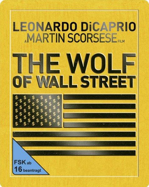 [Media-Dealer] Wolf of Wall Street - Steelbook (Bluray inkl. Digital Ultraviolet) für 13,96€