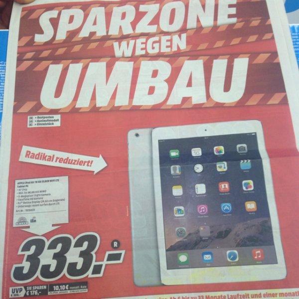 iPad Air 16gb wifi + cell Silber im Media Markt Duisburg Grossenbaum 333€